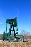 Pump jack Royalty Free Stock Images