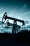 Pump jack Stock Image
