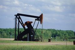 Pump jack Stock Images