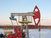 Pump jack 7 Royalty Free Stock Photo