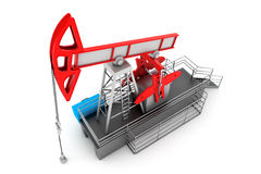 Pump Jack Oil Crane Royalty Free Stock Photo