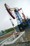 Pump jack, oil industry stock photos