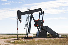 Pump jack in south central Colorado, USA Stock Image