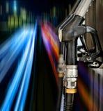 Pump nozzles Stock Images