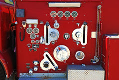 Pump Panel Stock Photo
