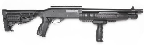 Pump rifle Royalty Free Stock Image