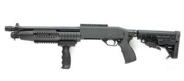 Pump rifle Royalty Free Stock Photo