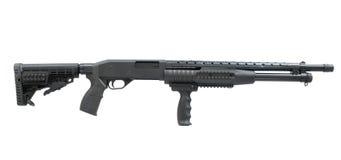 Pump rifle. Ukrainian short pump rifle fort Stock Photo