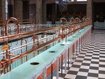 Pump room historical interior Royalty Free Stock Photography