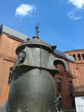 Pump sculpture Royalty Free Stock Image