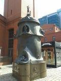 Pump sculpture Royalty Free Stock Photos