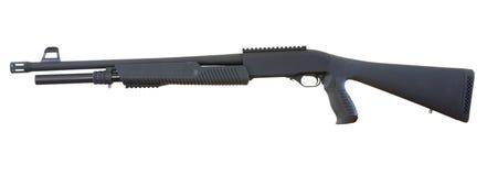 Pump shotgun Stock Photo