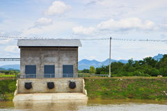 Pump station Royalty Free Stock Images
