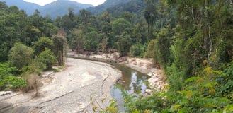 Pumpa del fiume immagini stock libere da diritti