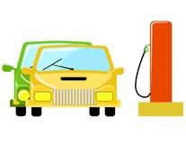 pumpa för gas royaltyfri illustrationer