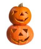 Pumpa halloween Arkivfoton