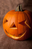 Pumpa halloween Royaltyfria Bilder