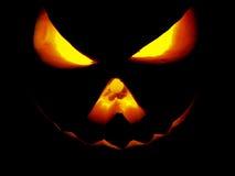 Pumpa halloween Jack O'Lantern Arkivfoto
