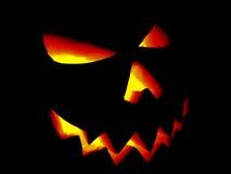 Pumpa halloween Jack O'Lantern Arkivfoton
