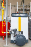 Pumpar för gasbrännare för gas för branschgaskokkärl Royaltyfria Bilder