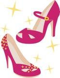 Pumpar för varm Pink Royaltyfria Bilder