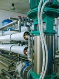 Pumpar och leda i rörsystem Royaltyfri Fotografi