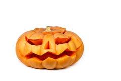 pumpawhite för bakgrund eps8 halloween Royaltyfri Foto