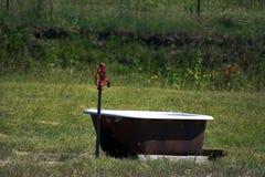 Pumpe auf einem Bauernhof Lizenzfreie Stockfotografie