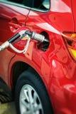 Pumpe Autogas/LPG Lizenzfreie Stockfotografie