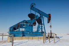Pumpe Jack, Alberta Canada Lizenzfreies Stockbild