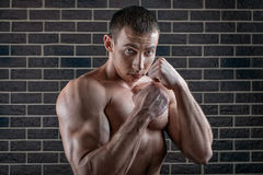 Pumped guy Stock Photography