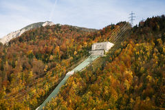 Pumped storage hydropower plant Royalty Free Stock Photo