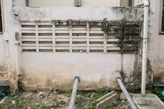 Pumpen för vatten för system för vatten för sugrör Royaltyfri Fotografi
