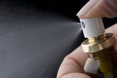 Pumpen-Spraymedizinflasche Lizenzfreie Stockfotos