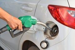 Pumpendes Gas Stockbilder