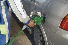 Pumpendes Gas lizenzfreie stockbilder