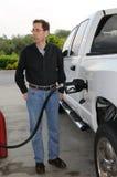 Pumpendes Gas Stockfotografie