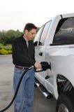 Pumpendes Gas Lizenzfreies Stockfoto