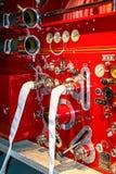 Pumper Configuratiescherm royalty-vrije stock foto