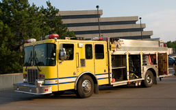 Pumper Truck. This is a fire department pumper rescue truck Royalty Free Stock Photos