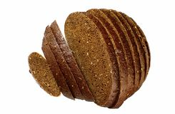 Pumpernickel bread Royalty Free Stock Photo