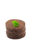 Pumpernickel bread Stock Photo