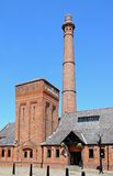 The Pumphouse, Liverpool. View of the Victorian Pumphouse at Albert Dock which is now a pub and restaurant, Liverpool, Merseyside, England, UK, Western Europe Royalty Free Stock Images