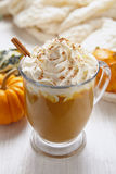 Pumpin latte Royalty Free Stock Images