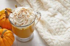 Pumpin latte Stock Images