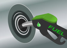 Pumping fuel Stock Photos