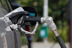 Pumping Gas Royalty Free Stock Photography