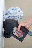 Pumping Gas Royalty Free Stock Image