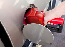 Pumping Gas Stock Images