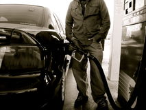 Free Pumping Gas Royalty Free Stock Images - 4935909